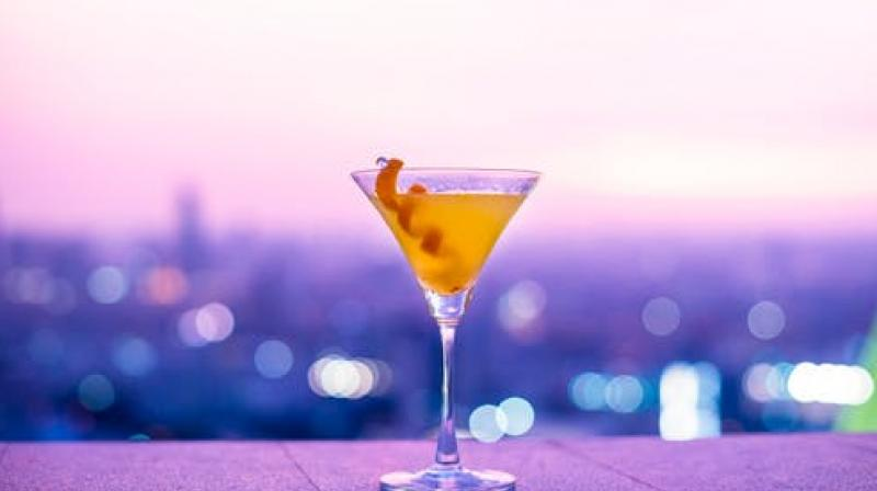 a stirred martini cocktail will stay much colder, much longer. (Photo: Representational/Pexels)