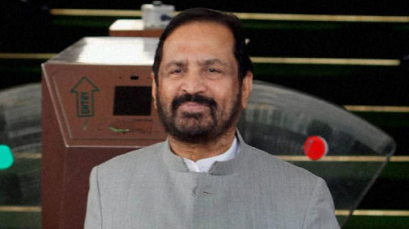 As the storm gained in intensity on Wednesday, Kalmadi chose to step aside from the post. (Photo: File)