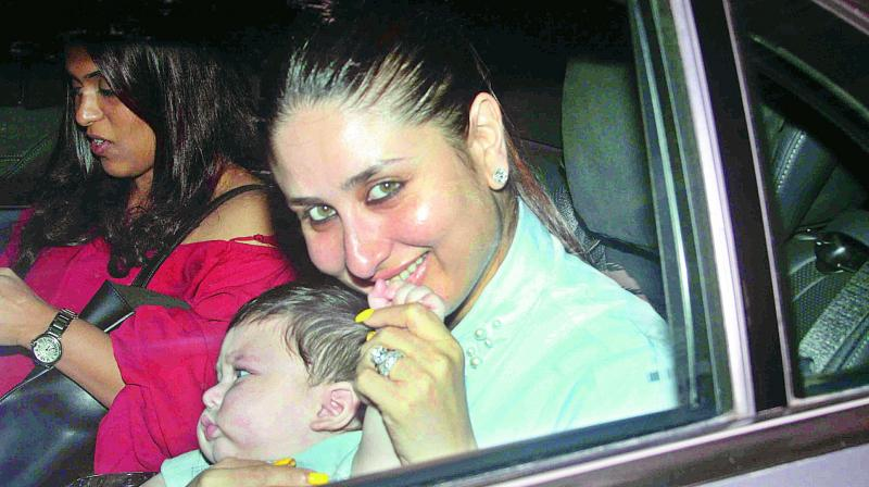 Kareena Kapoor plans to take her son Taimur for his first overseas trip.