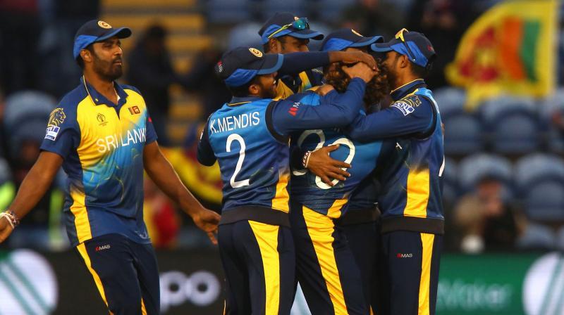 Sri Lankan cricket team (Photo: AFP)