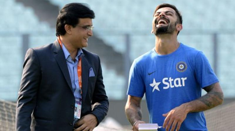 Sourav Ganguly has praised the current skipper Virat Kohli calling him a 'champion player'. (Photo: AFP)