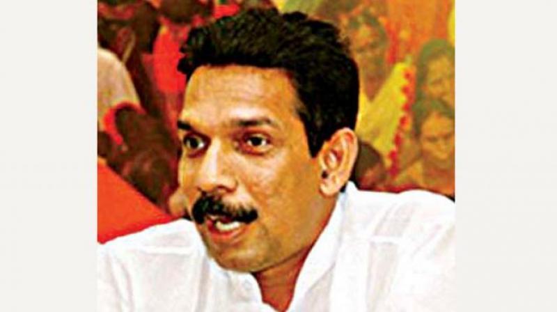 Dakshina Kannada BJP MP Nalin Kumar Kateel.