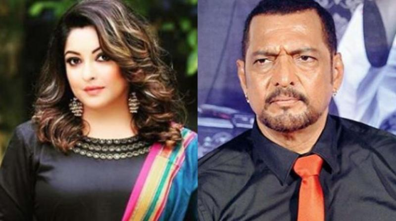 Tanushree Dutta and Nana Patekar.