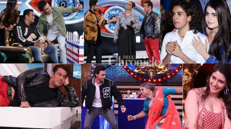 Frantic and hectic: Bollywood stars went all out for their films which recently hit the theatres and which were up for release too in Mumbai on Friday. (Photos: Viral Bhayani)