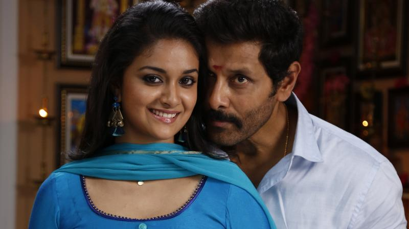 A still from Saamy Square.