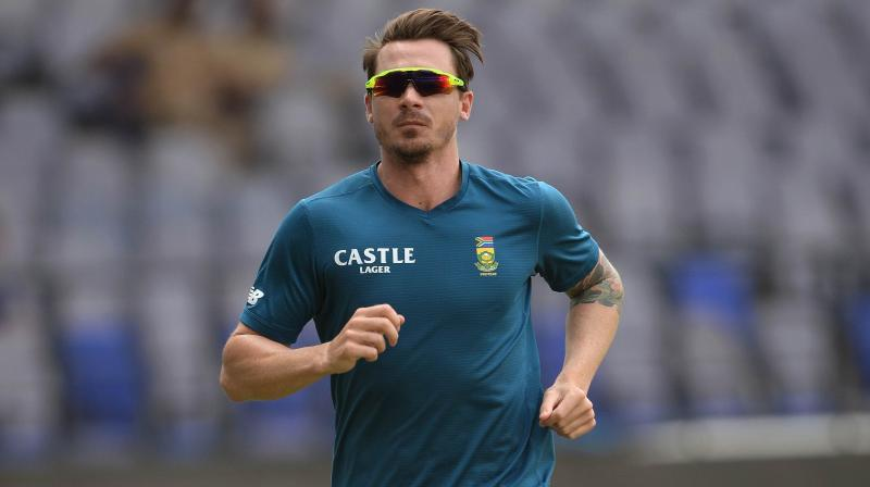 Dale Steyn said he had spoken to South Africa coach Ottis Gibson and will play white ball cricket in England and in South Africa to get himself ready to be in a position to mentor the younger quicks. (Photo: AFP)