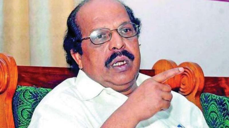 G. Sudhakaran, PWD Minister