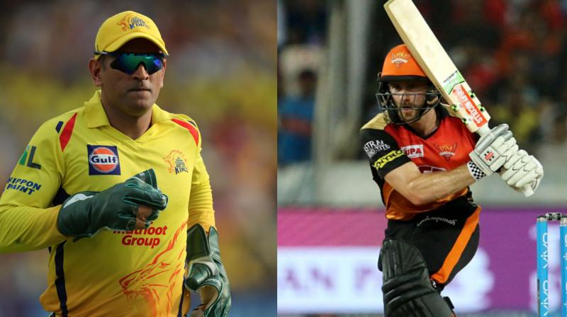 The match between MS Dhoni's Chennai Super Kings and Kane Williamson's Sunrisers Hyderabad is expected to provide lot of fireworks with bat. (Photo: BCCI)
