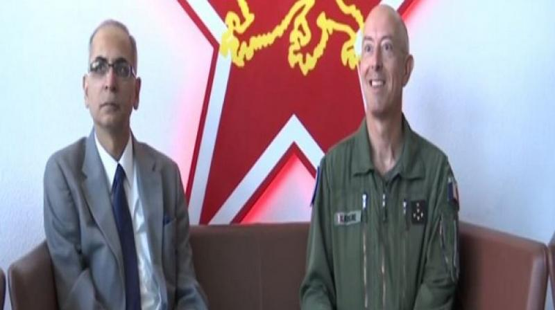 Indo-French exercise Garuda VI falls under the global framework of bilateral cooperation between the two nations and is alternately held in France and India. (Photo: ANI)