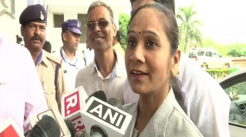 Her recent statement comes at a time when Congress is facing tough times in Goa and Karnataka with many MLAs in both states switching sides to join rival BJP. (Photo: ANI)