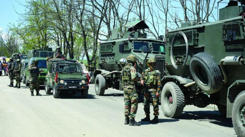 Riot control vehicles have also been kept on standby in some areas where the apprehension of law and order disturbances is more. (Photo: PTI)