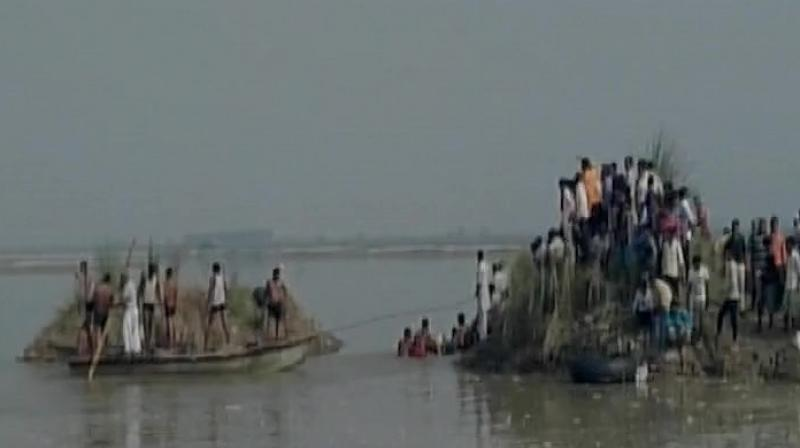 Police have arrived at the spot and rescue operation is underway. (Photo: ANI/Twitter)