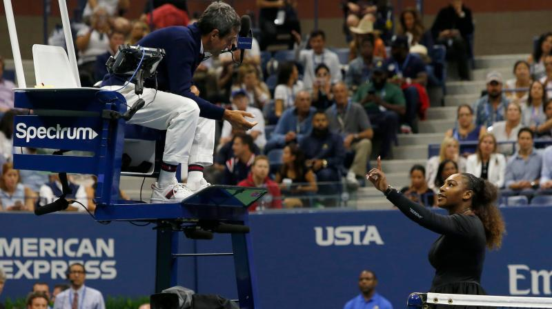 Williams isn't the first player to take issue with Ramos's strict interpretation of the rules. (Photo: AFP)