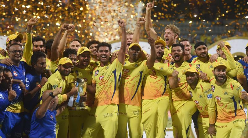 MS Dhoni's CSK were crowned winners of the 2018 edition after they scripted a fairytale comeback, beating SunRisers Hyderabad (SRH). (Photo: PTI)