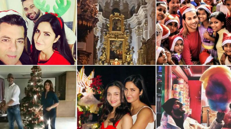 Bollywood celebrities celebrate Christmas 2017.