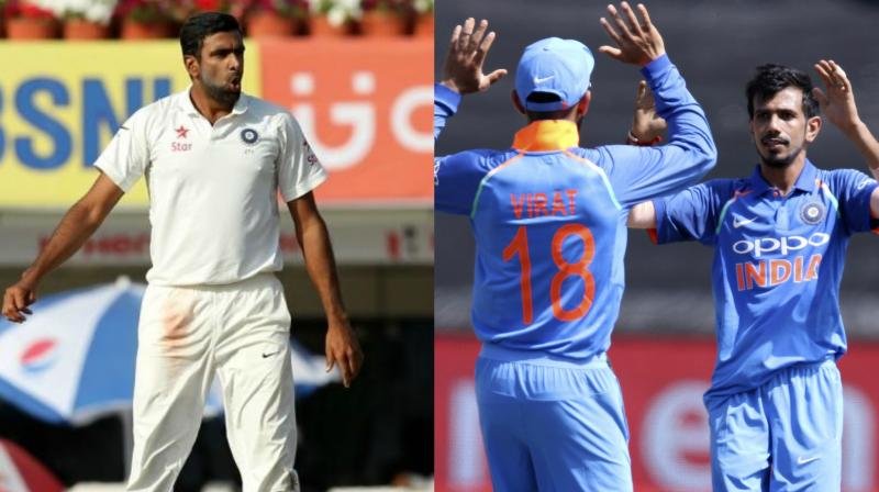 Ashwin's Indian Test spot in danger as Chahal gets Kohli's backing