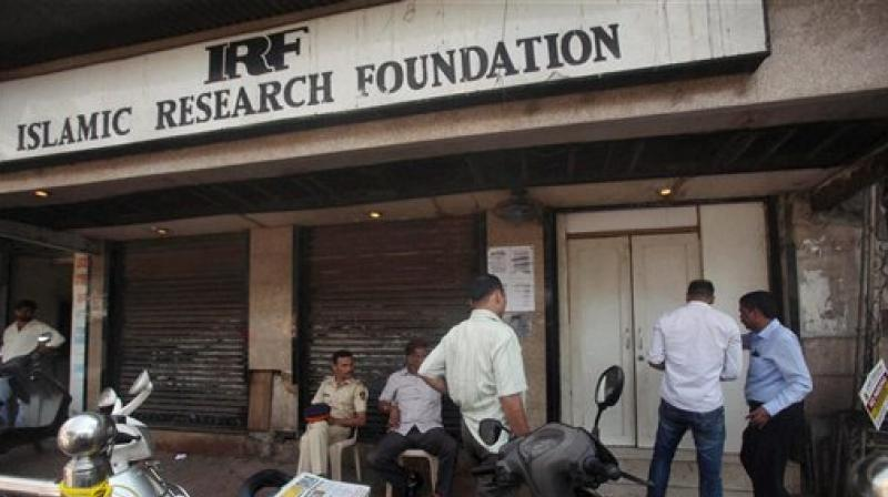 National Investigation Agency (NIA) team and Mumbai Police raids the Islamic Research Foundation office headed by Zakir Naik at Dongri in Mumbai. (Photo: PTI/File)