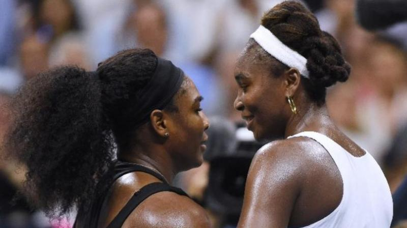 The Williams sisters were the headliners yesterday night in the Tie Break Tens tournament in Madison Square Garden. (Photo: AFP)