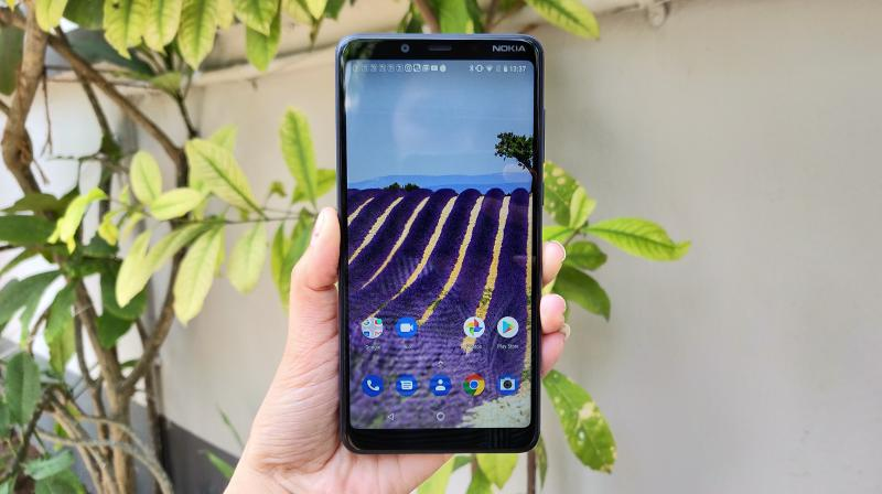 The Nokia 3.1 Plus is a very classy and bears a rock solid Nokia-style exterior.