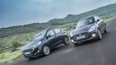 heir performance is the same on paper and it is only in terms of fuel efficiency that Swift takes a slight lead.