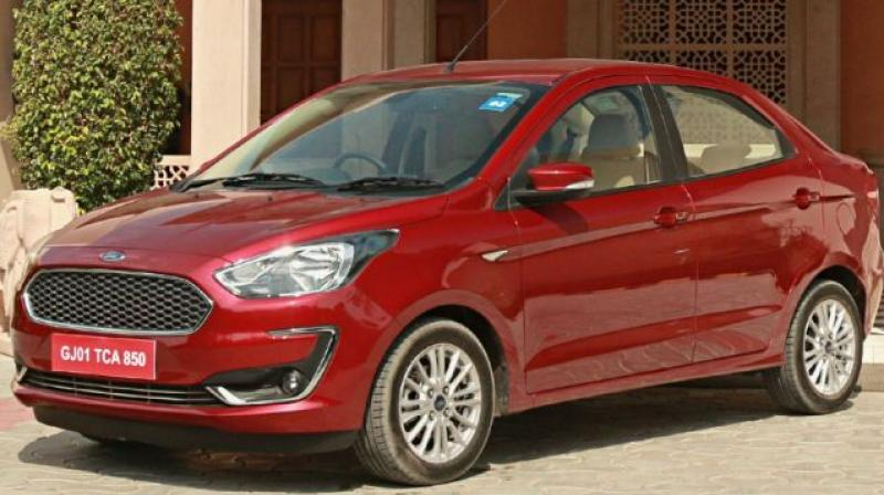Ford is offering an exchange bonus of Rs 15,000 on the Freestyle and Aspire.
