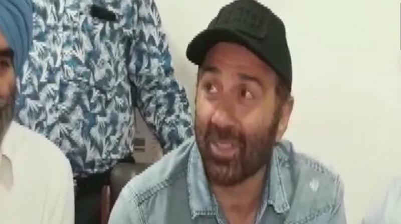"""On being asked if he will attend the inauguration ceremony of Kartarpur Corridor, Sunny told media here, """"If I won't go who will? I will definitely go. It is my area and my home."""" (Photo: ANI)"""