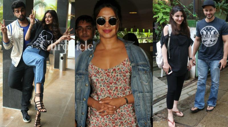 Paparazzi managed to capture Bollywood stars at various venues in Mumbai on Thursday. (Photo: Viral Bhayani)