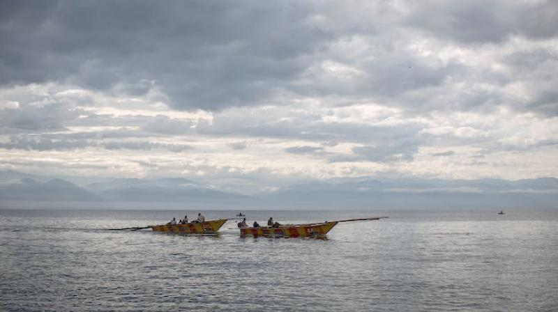 The accident occurred in Lake Tanganyika, world's second largest freshwater lake. (Photo: AFP)