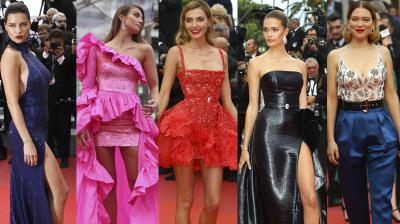 Top actors, singers from around the world graced the prestigious Cannes red carpet on Day 9.