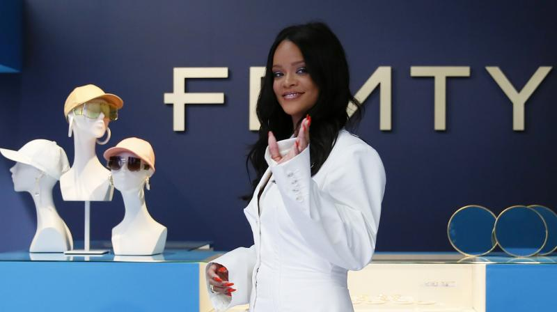 The Barbados-born star's lines are the second time LVMH has created an original brand. (Photo: AP)