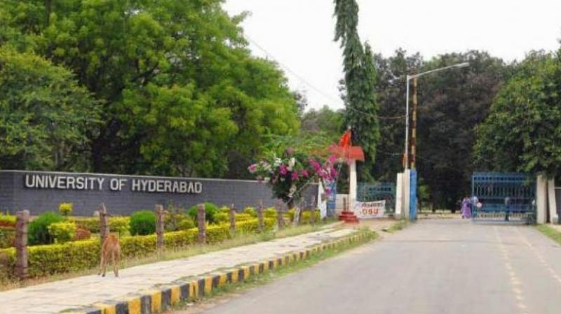 Two students of University of Hyderabad conspire to kill VC, arrested