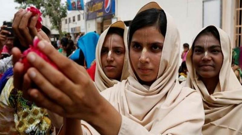 Hindus in Pakistan declining due to 'forced' conversions: Pak media
