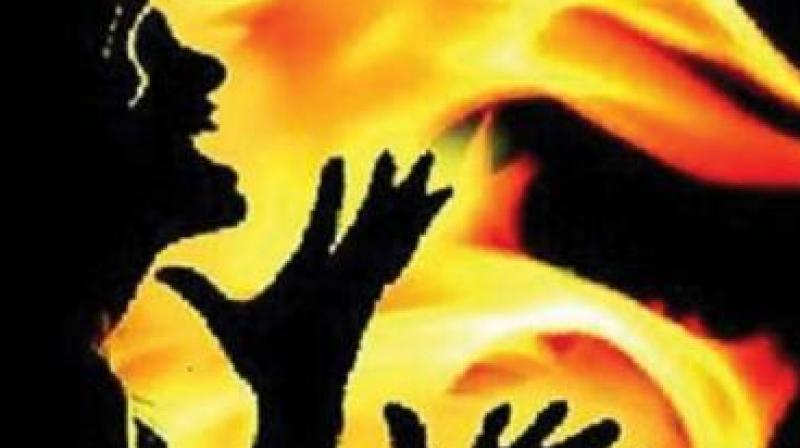 According to our sources, the victims, identified as Kavitha, 28, and her son Dinesh, 4, were found burnt inside their house in Karasgutti village, Nagalgidda mandal on Wednesday evening. (Representational Image)