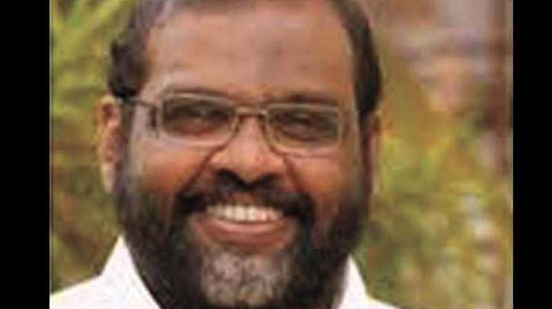 """Today a person like Valsan Thilenkery with criminal background is calling shots,"""" said CMP leader C.P. John."""