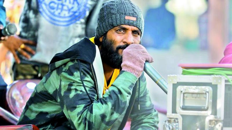 Back after a gap of five years, director Jeevan Reddy has already earned accolades for the trailer of his upcoming film George Reddy.