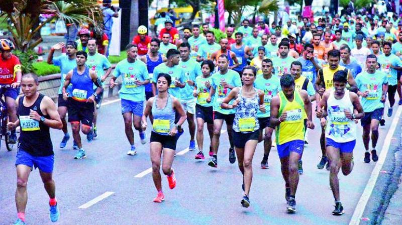 The organisers expect at least 1,200 participants and 3,000 spectators onthe race day.  (Representational image)