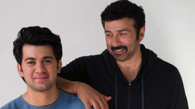 Sunny Deol shares first look of Karan Deol's debut film