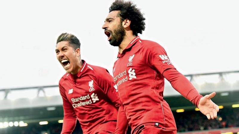 Liverpool is without a domestic league title for 29 years and City searching for an unprecedented quadruple of honours