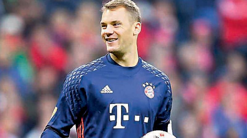 Neuer has faced an ongoing battle with injury in recent years.