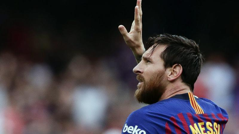Messi's absence has been compounded by injuries to other strikers. (Photo: AP)