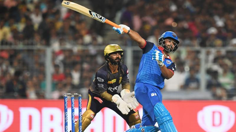 Pant has so far scored 245 runs in the ongoing IPL, compared to Karthik's 111 but Gavaskar said there was some merit in ignoring Pant's batting form. (Photo: AFP)