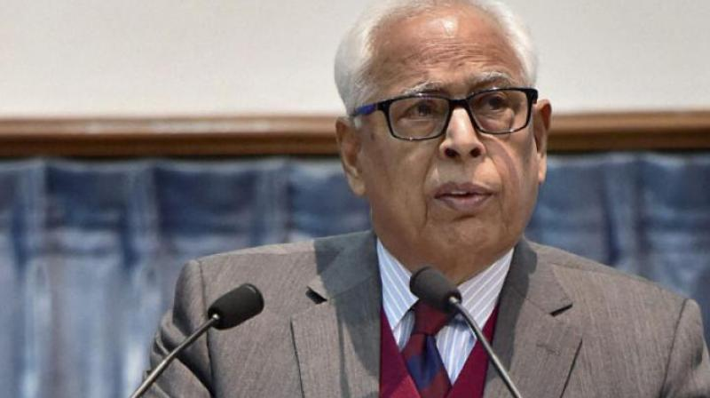 J&K Governor NN Vohra on Wednesday appointed IAS officer BVR Subrahmanyam as the new Chief Secretary of the state. (Photo: File)
