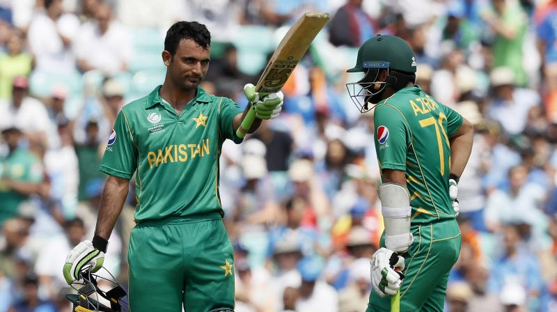Fakhar Zaman scored a match-winning hundred against arch-rivals India as Pakistan won the final by 180 runs to clinch their maiden ICC Champions Trophy title. (Photo: AP)