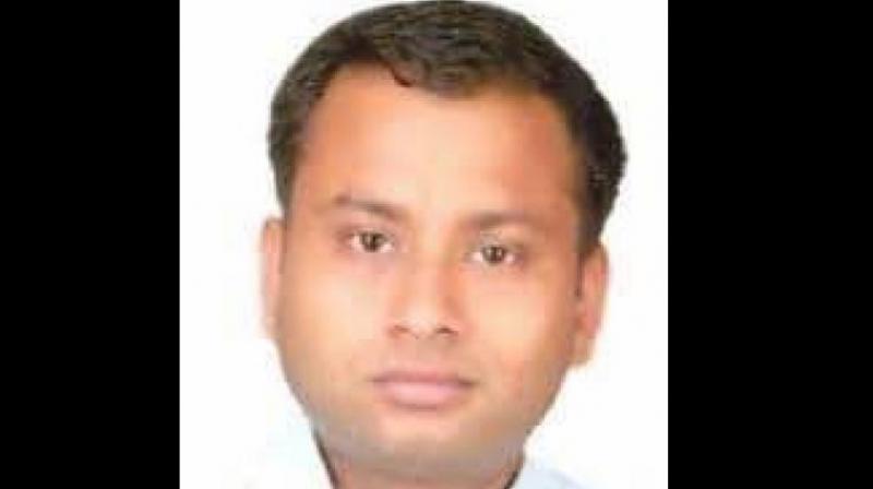 Karnataka-cadre IAS officer Anurag Tiwari (Photo: ANI/Twitter)