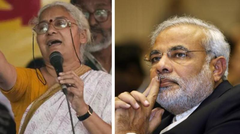 'Patkar life is precious for every Indian who stands for environmental protection and real sustainable development,' Viswam said in a letter to PM. (Photo: AFP)