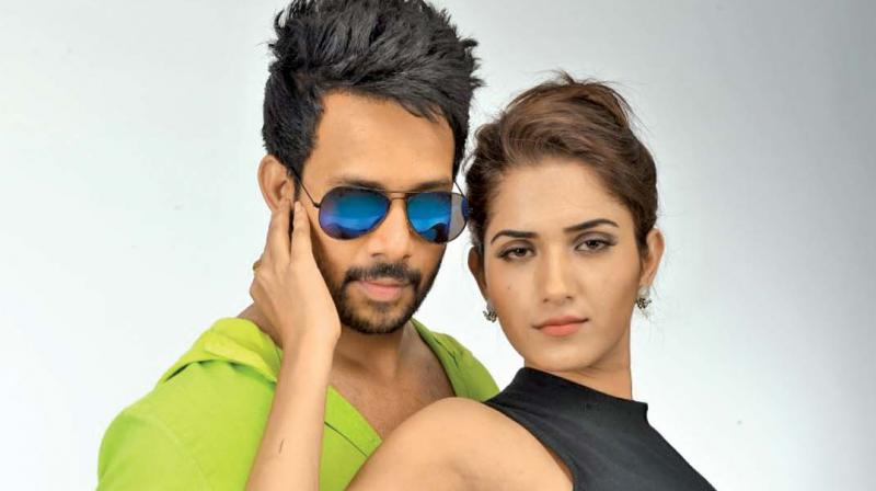 Bharath and Ruhani Sharma in KBK