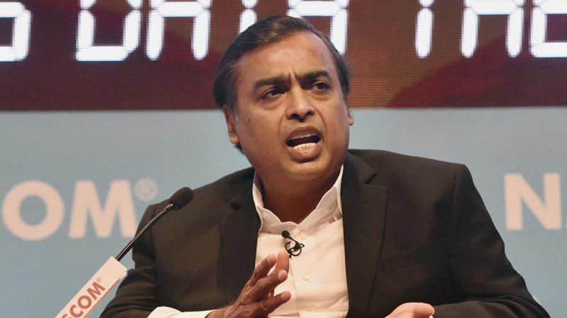 Mukesh Ambani  chairman, RIL.