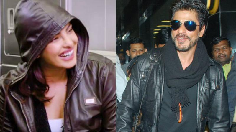 While what she thought was a completely harmless statement, viewers recognised that a similar jacket belonged to Shah Rukh Khan! There have been many rumours of the two dating in the past.