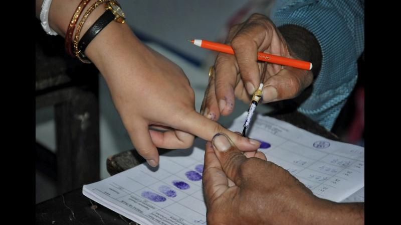 Nagarjunsagar goes to poll today
