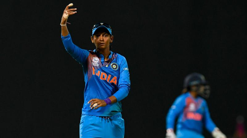 Harmanpreet, who was previously serving in the Indian Railways, was relieved from her duties in March last year after she put forward a request to join Punjab police. (Photo: AFP)